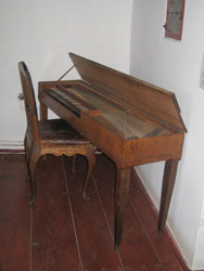 The Samuel Maetz Clavichord